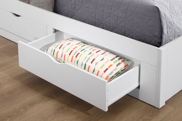 9c921999e2a8 Add easy storage to even the most compact of kids' rooms with this  beautiful Appleby bed.