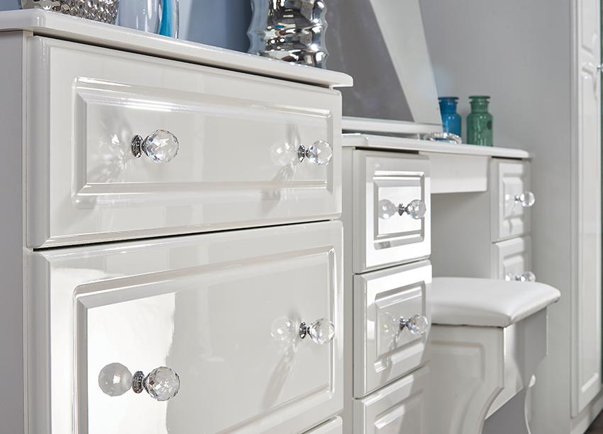 Balmoral white high gloss bedroom range welcome furniture for White gloss bedroom furniture