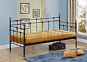 Atlas Day Bed (Black or Cream) - Birlea Furniture
