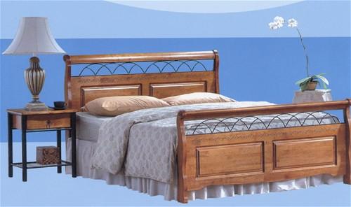 duke oak bed frame ambers international - Oak Bed Frame