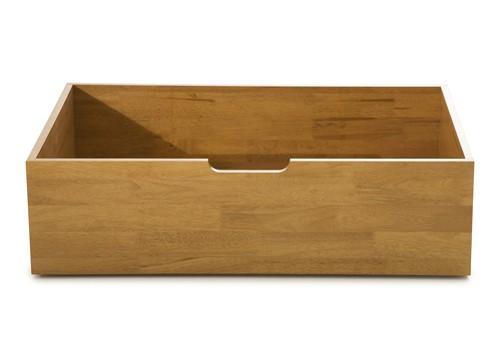 Macy Underbed Storage Drawers Pair In Honey Oak Serene