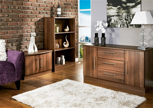 Beds for everyone living room furniture Walnut effect living room furniture