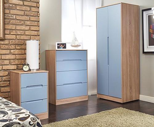 Monaco Denim Bedroom Furniture