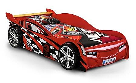 Scorpion Racer Novelty Bed Red