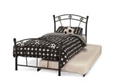 Soccer 3ft Single Guest Bed (Black) - Serene Furnishings