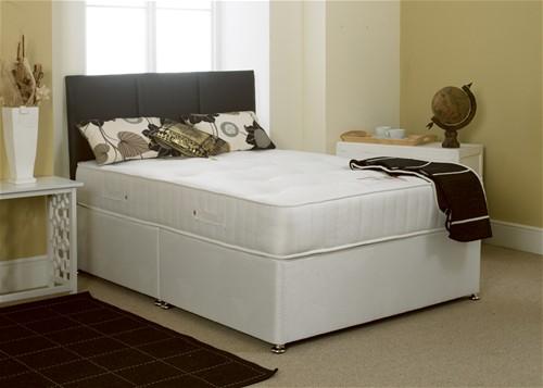 Stress free divan bed regular medium traditional for Junior divan bed
