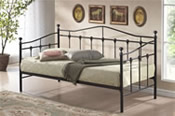 Torino 3ft Day Bed (Black or Cream) - Birlea Furniture
